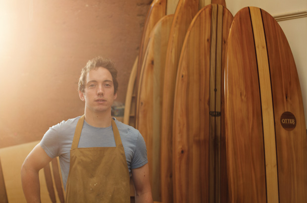 James Otter Wooden Surfboards