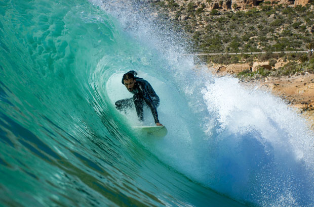 Morocco Point Barrel Pete Chamberlain Down The Line Photography