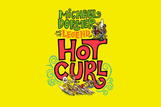 front cover of michael dormer and the legend of hot curl book