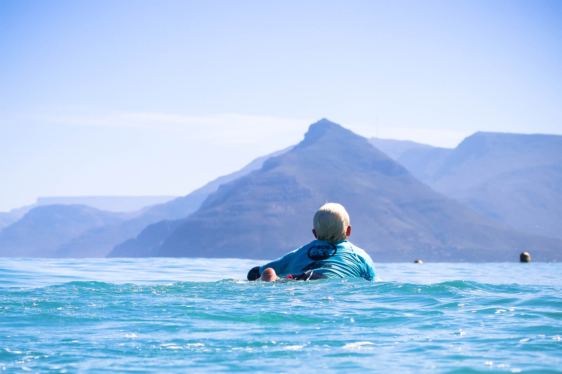 surfer dan emslie in a surf contest in cape town photographed by ian thurtell