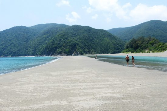 katoku beach in japan